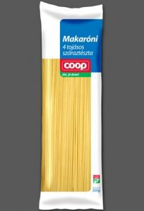 COOP Makaróni 4 tojásos 500g