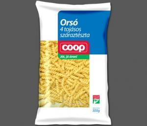 COOP Orsó 4 tojásos 500g