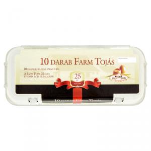 10 db Farm Tojás