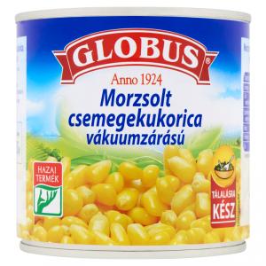 Globus Morzsolt csemegekukorica vákuumzárású 340g