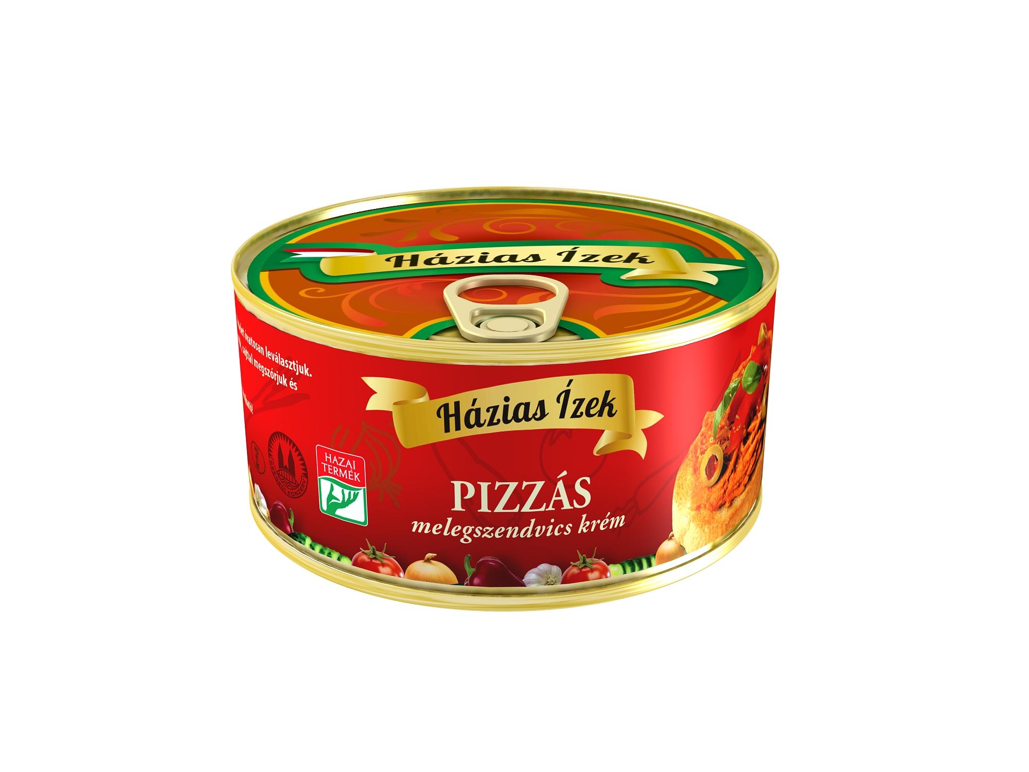 """""""Házias Ízek"""" Pizzás melegszendvicskrém 290g"""