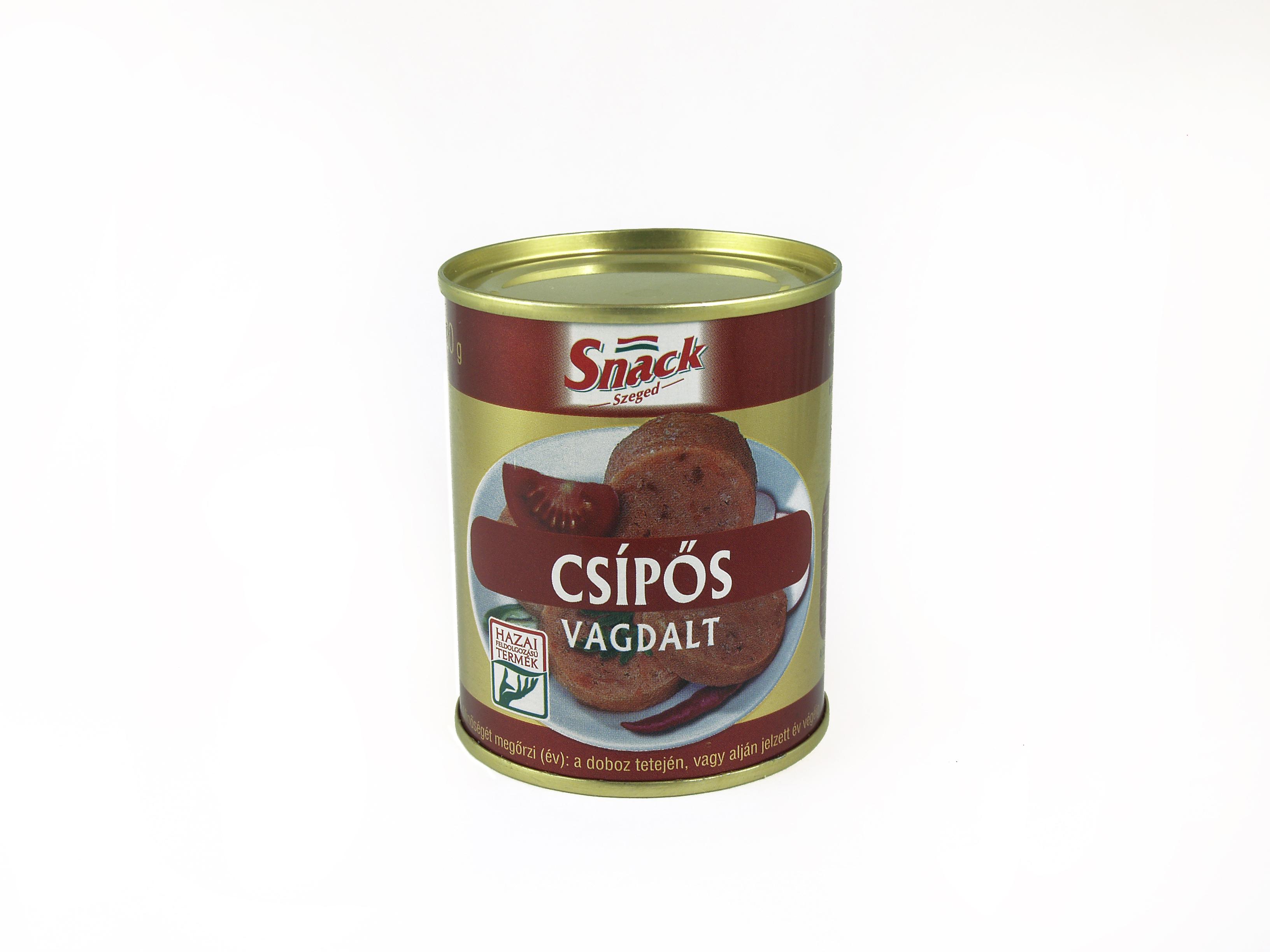 """Snack"" Csípős vagdalt 130g"