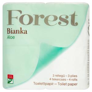 Bianka Aloe toalettpapír 4 tek.