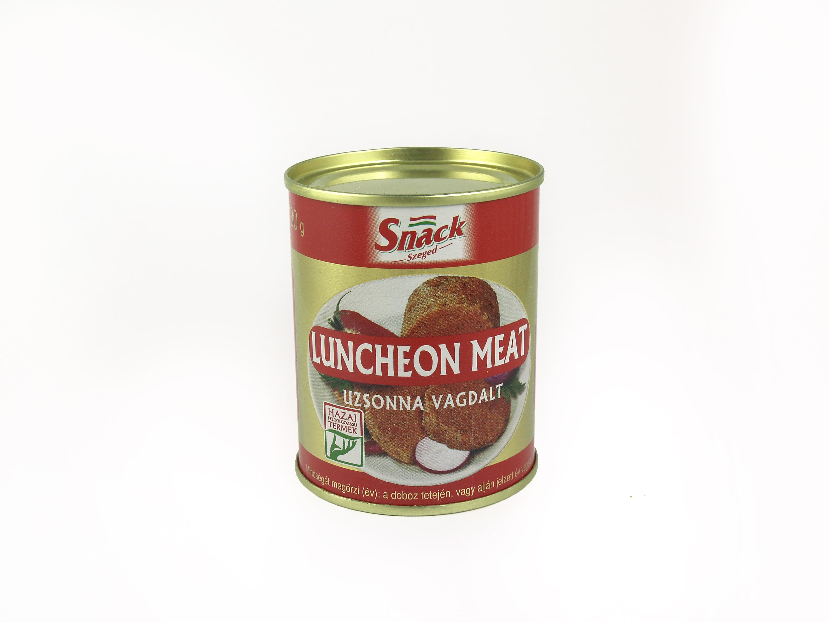 """Snack"" Luncheon meat uzsonnavagdalt 130g"