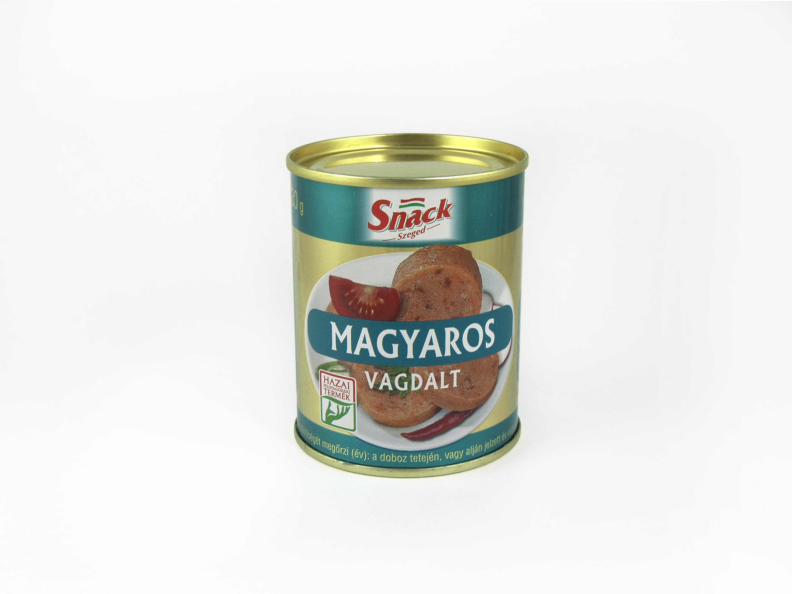 """""""Snack"""" Magyaros vagdalt 130g"""