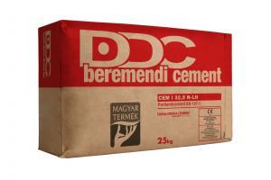 CEM I 32,5 N-LH Portlandcement Beremend zsákos