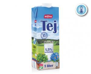 ALDI/Milfina UHT tej 1,5% 1000ml