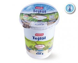 Aldi/Milfina tejföl 12% 450g
