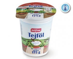 Aldi/Milfina tejföl 20% 175g
