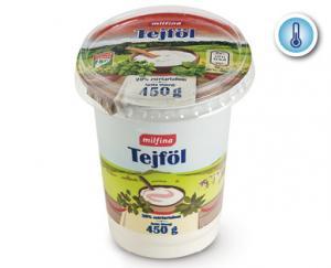 Aldi/Milfina tejföl 20% 450g
