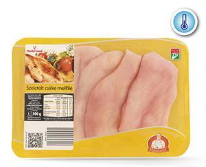 Szeletelt csirke mellfilé