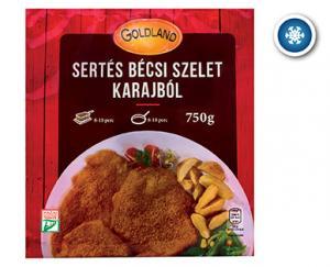 Goldland Sertés Bécsi szelet karajból 750g