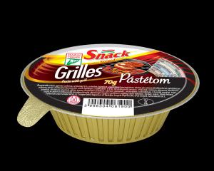 Grilles pástétom