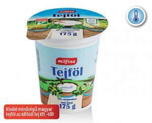 Aldi/Milfina tejföl 12% 175g