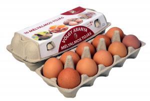 Mélyalmos tojás M-L méret 10db-os doboz