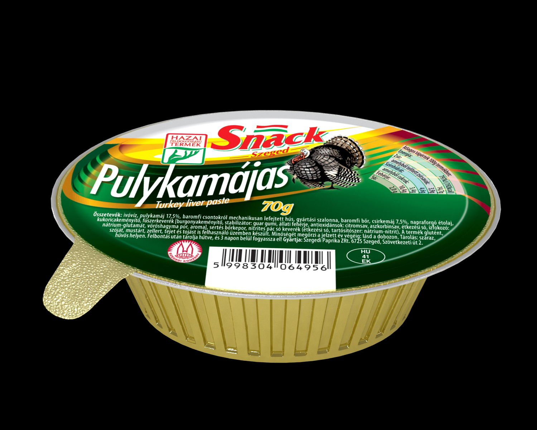"""Snack"" Pulykamájas 70g"