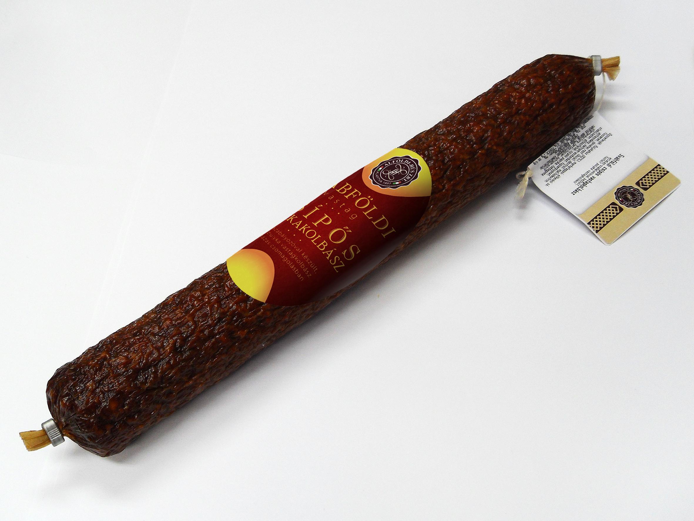 Svábföldi pulyka vastagkolbász csípős cca.500g