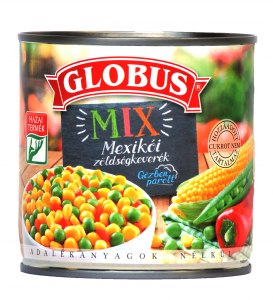 Globus Mexikói zöldségkeverék 300g
