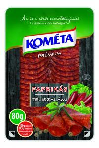 Prémium Téliszalámi paprikás 80g szvg.