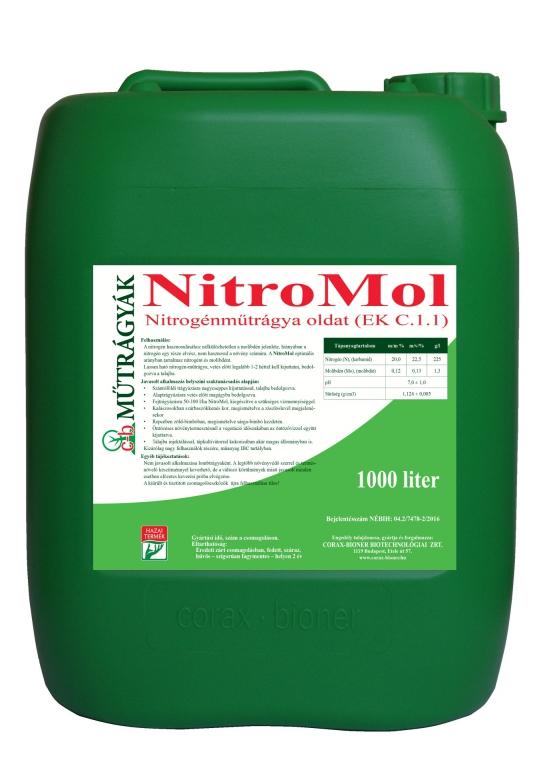 Voligop Nitro-Mol 20l, 1000 l