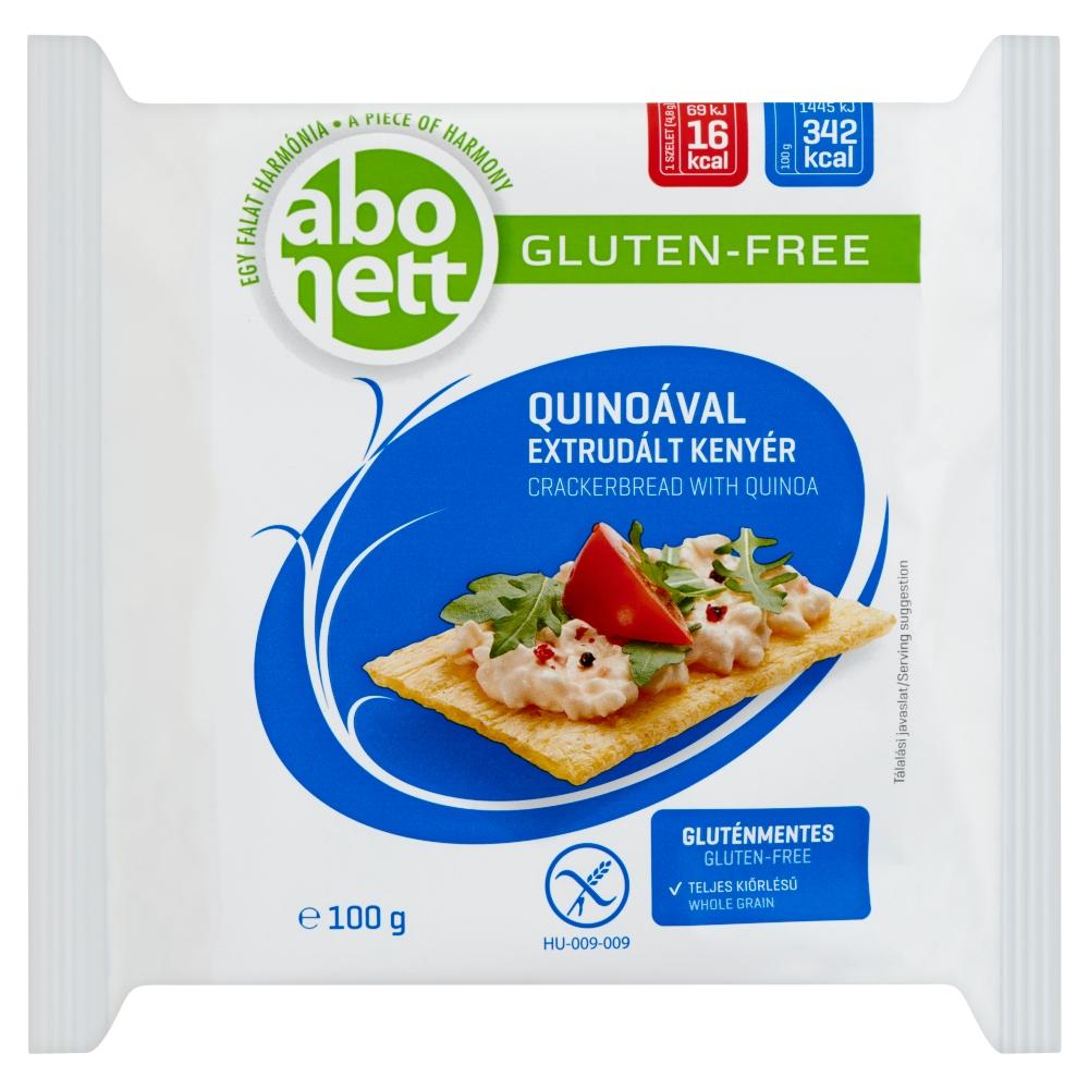 Abonett extrudált kenyér, quinoával. Gluténmentes