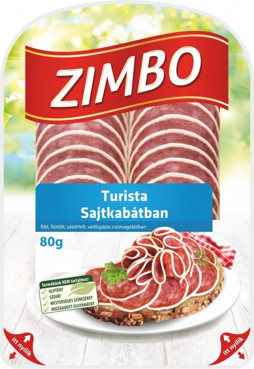 ZIMBO Prémium turista sajtkabátban 80g