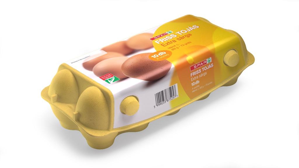 Spar Extra sárga L 10 db