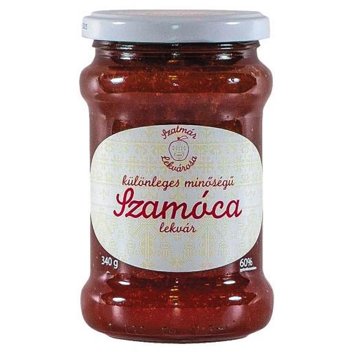 """""""Szatmári Ízek Bíró"""" Különleges minőségű Szamóca lekvár 340g"""