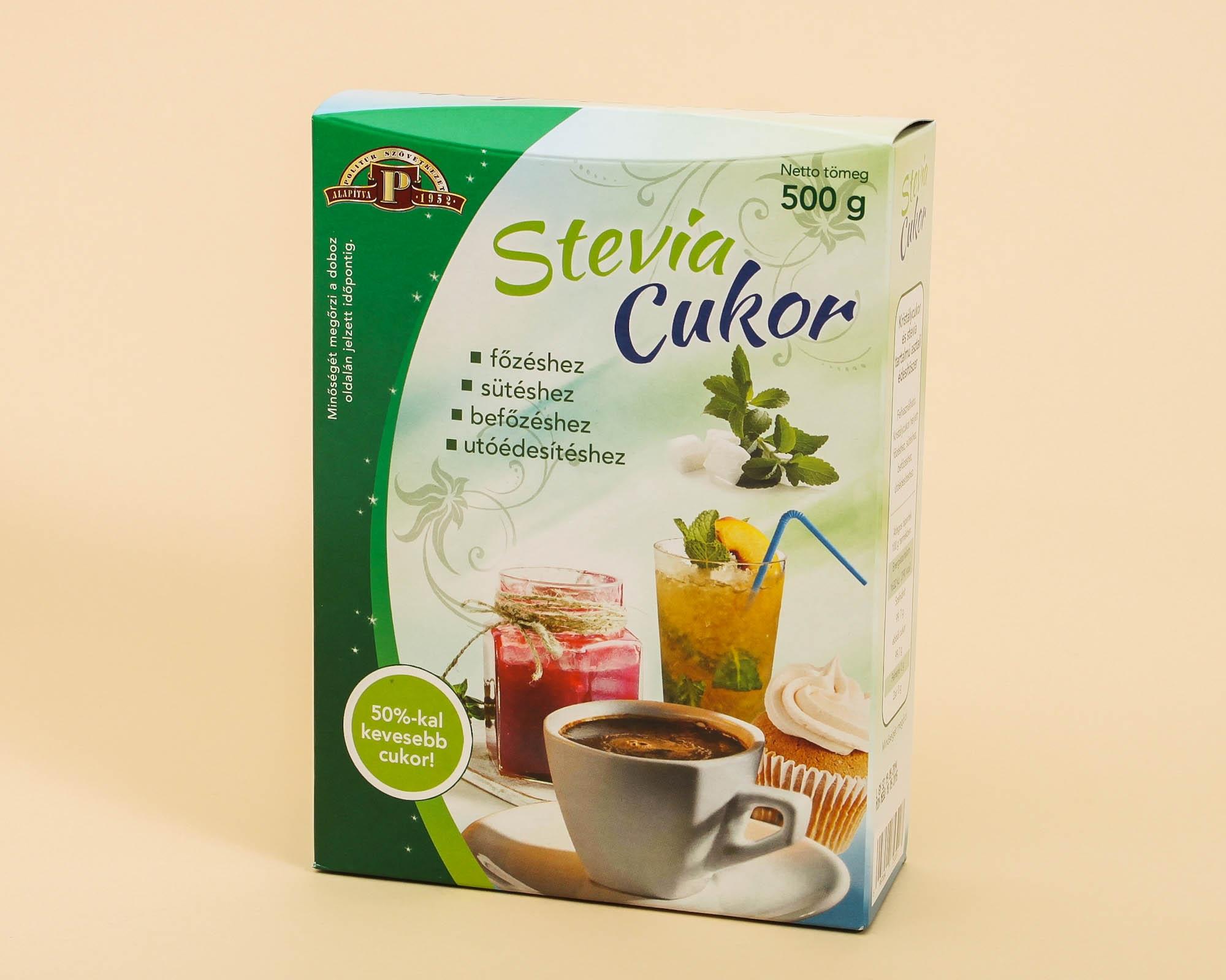 Stevia+cukor 500gr